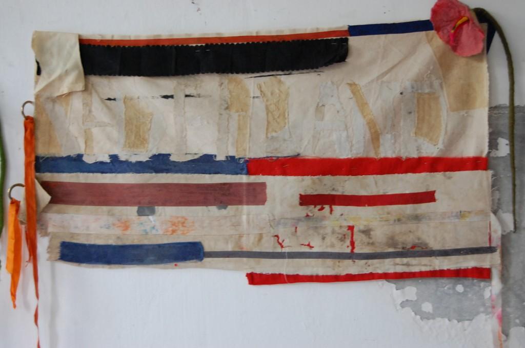 Banketje, textile art,                               ,